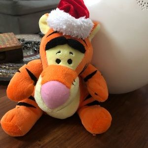 Disney Winnie The Pooh Christmas Musical Plush Toy